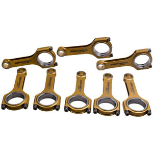 8x Titanizing Connecting Rods For Toyota 2ur gse 5 0l Engine Conrod 800 hp