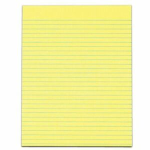 Tops The Legal Pad Glue top Writing Pads 8 1 2 X 11 Wide Ruled 50 Sheets