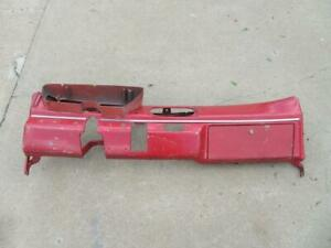 62 63 Plymouth Steel Dash Frame Red Mopar