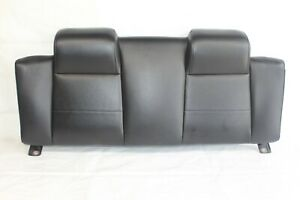 2007 Ford Mustang V6 Convertible 114 A Rear Upper Back Seat Cushion Leather