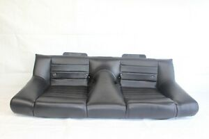 2007 Ford Mustang Gt Convertible 122 Rear Lower Bucket Seat Cushion Leather