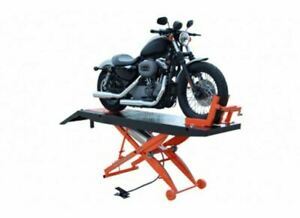 Titan Lifts Sdml 1000d Motorcycle Lift Black And Orange