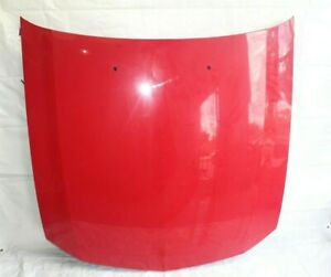 2007 Ford Mustang Gt Convertible 122 Front Hood Shell Panel Red Factory dents