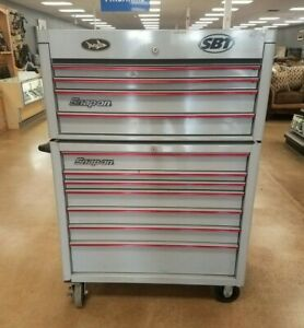 Snap On Heritage 40 Heritage Series Roll Cab With 4 Drawer Top Chest Kra4107