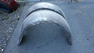 Model A Ford Rear Fenders For Coupe Roadster Cabriolet Or Truck 1928 1929