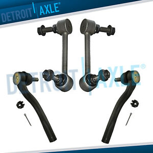 For 2011 2012 2015 Durango Grand Cherokee Front Sway Bar Links Outer Tierods
