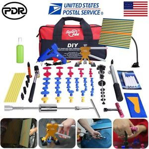 87 Pdr Tools Dent Puller Lifter Paintless Hail Repair T Bar Hammer Removal Glue