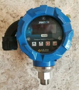 Ulfa Technologies Janitor Pressure Switch Transmitter Model Sit g10k 500 Psi