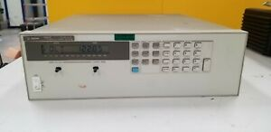 Agilent 6655a System Dc Power Supply 0 120v 0 4a Good Unit 3 Good