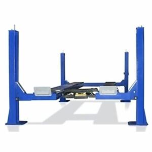 Tuxedo Fp14ko a 14 000 Lb Four Post Alignment Lift Open Front Cable Driven
