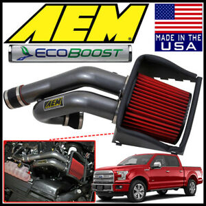 Aem Induction Cold Air Intake System Fits 2017 2019 Ford F 150 2 7l Ecoboost V6
