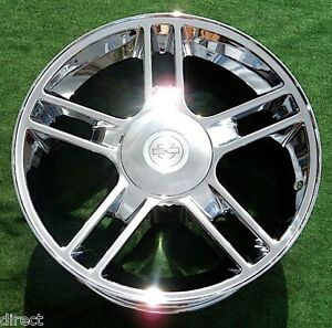 Ford Harley davidson F 150 22 Inch Wheels New Chrome Oem Factory Spec Expedition