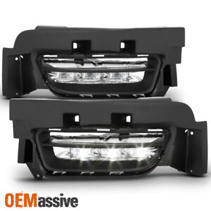 Fit 2015 2020 Dodge Charger Original Style Led Bumper Fog Lights W switch