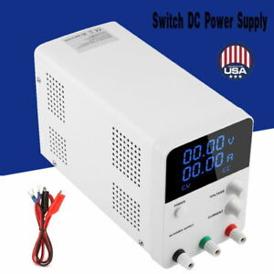 Wanptek Digital Switch Dc Power Supply Adjustable Regulators 32v 10 2a Lab Test