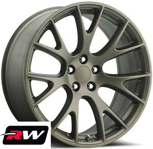 20 Rw 2528 Bronze Wheels For Chrysler 300 2005 2019 Rims 20x9 5 Inch