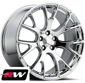20 Rw 2528 Chrome Wheels For Chrysler 300 2005 2019 Rims 20x9 5 Inch