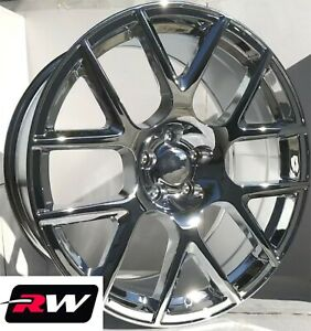 20 Inch 20 X9 Dodge Charger Oe Factory Replica Wheels Chrome Srt Scat Pack Rims