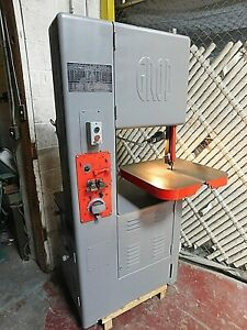 Grob 18 Vertical Metal Cutting Bandsaw W Welder Grinder 115 230 V 1 Ph