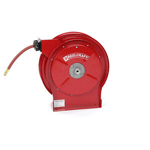 Reelcraft 4435 Olp 1 4 X 55 Ft Hose Reel Industrial Air Water 300 Psi Usa