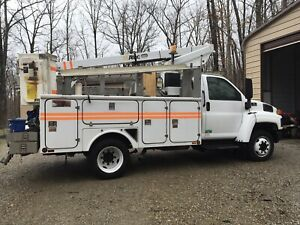 2005 Chevy C 4500 35ft Bucket Truck
