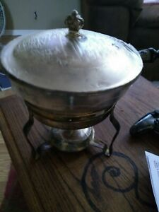 Sterling Silver Chafing Dish