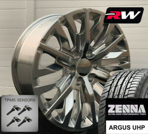 20 Inch Wheels And Tires For Cadillac Escalade Replica 2019 Denali Polished Rims