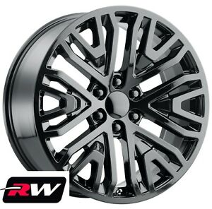 22 Chevy Truck Oe Replica Wheels 2019 Gm Accessory Gloss Back Rims 6x5 50 28