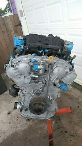 2009 2017 Nissan 370z Engine Long Block Vq37vhr Oem M37 G37 3 7l