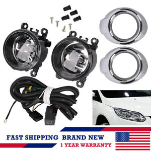 2x Fog Light Kit Driving Lamps W Harness For Mitsubishi Outlander Sport Asx