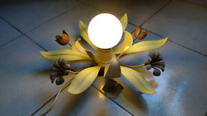 French Vintage Flowers Ceiling Light Chandelier