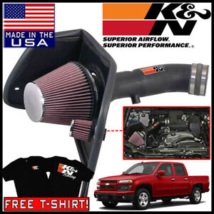K n Aircharger Cold Air Intake System Fits 2007 2012 Chevy Colorado 3 7l L5