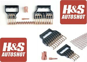H S Autoshot 2120 Uni Wire Deluxe Kit For Uni Spotter Stud Welders New Free Ship