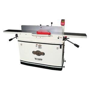Shop Fox W1859 8 inch X 76 inch 3 hp Parallelogram Jointer W Mobile Base