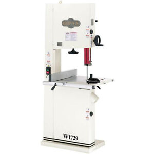 Shop Fox W1729 2 H p Single phase 19 Dual Speed Bandsaw With Deluxe Fence