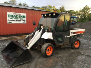 2009 Bobcat 5600 Toolcat 4x4 Diesel Utility Vehicle W Cab Loader High Flow