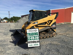 2006 Caterpillar 287b Compact Track Skid Steer Loader Cab High Flow New Tracks