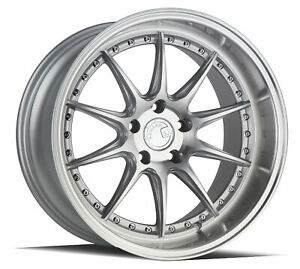 19x11 Aodhan Rims Ds07 5x114 3 15 Machined Set Of 4