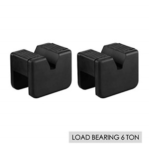 Easycosy Car Jack Stand Pad Upgrate 5 6 Tons Rubber Jack Pad Adapter Slotted