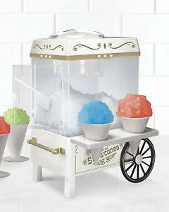 New Commercial Snow Cone Machine Maker Electric Carnival Party Ice Slushy
