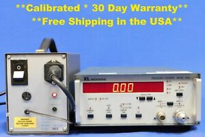 Xl Microwave 3400 Frequency Counter 10 Hz To 40 0 Ghz W Opt External Battery