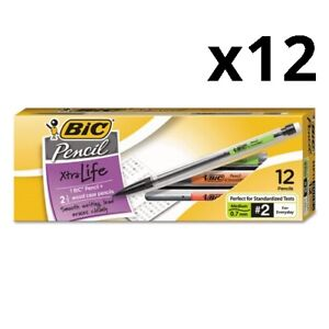 Xtra Smooth Mechanical Pencil 0 7 Mm Hb 2 5 Black Lead Clear Barrel