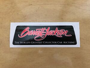Barrett Jackson Collector Car Auction Sticker Decal Off Road Racing Tool Box 6