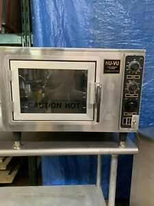 Used Nu vu Xo 1 Half Size Electric Countertop Convection Oven