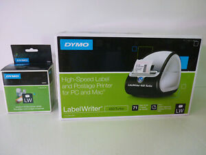 Dymo Labelwriter 450 Turbo Postage Label Printer For Pc Mac And Labels 30334
