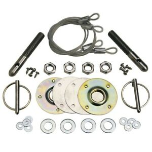1965 04 Mustang Stainless Steel Hood Pin Kit Ford Performance M 16700 A Usa Made