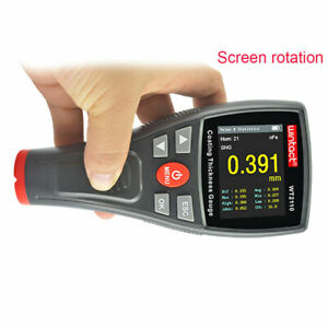 Car Paint Coating Thickness Meter Tester Wt2110 Screen Rotation Hd Color screen