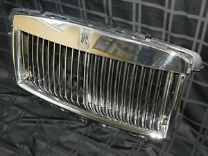 2010 11 12 13 14 Rolls Royce Ghost Wraith Front Grille Oem Refurbished Note