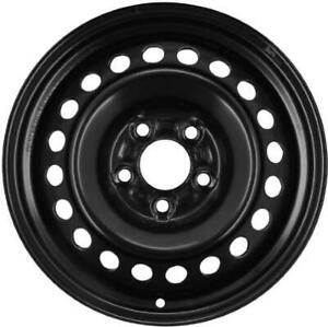 Wheel 2012 2018 Ford Focus 15 Inch Steel Rim Oem 5 Lug 108mm Black Painted