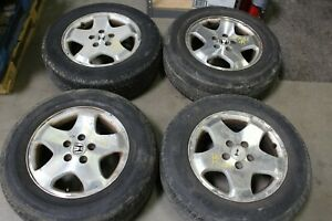 Jdm Oem Mags Wheels And Tires For Honda Odyssey 2001