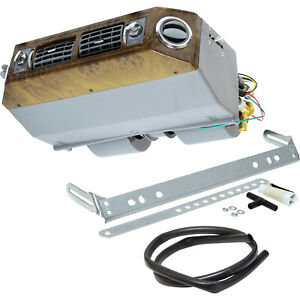 New A C Universal Under Dash Evaporator 12v 4 Louvers Cool Wood Un 0895c